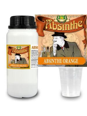 Absint Orange Pro essens 280 ml + 14 absintetiketter och mått